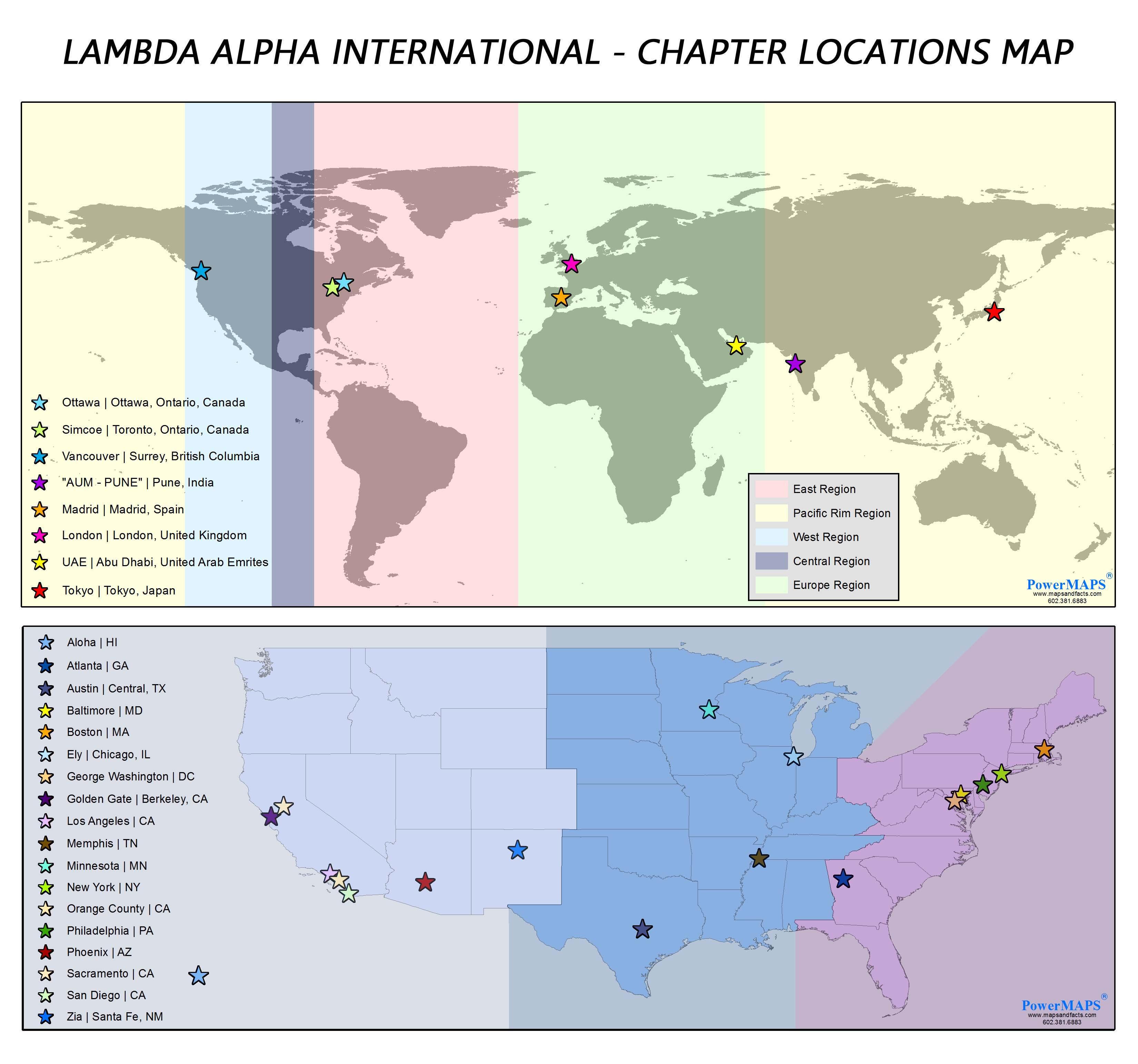 Lambda Alpha International Connecting professionals Sharing