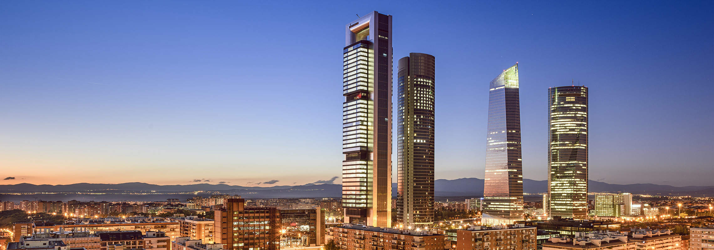Financial District, Madrid, Spain