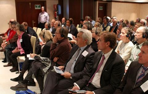 Attendees at the recent Madrid LEW